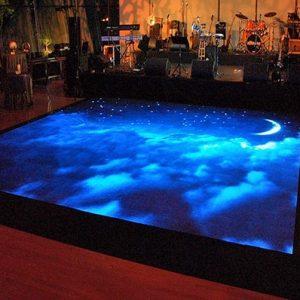 Màn hình led sàn PH3.91 trong nhà