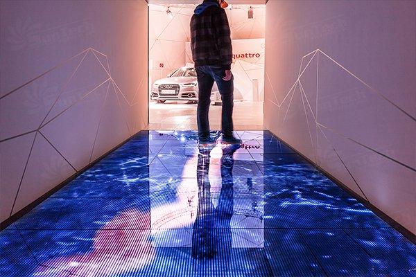 Điều khiển ngoại tuyến của màn hình led sàn tương tác