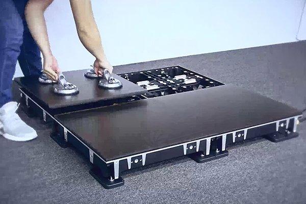 Thi công màn hình led sàn